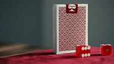 RED BORDERED DEALERS PLAYING CARDS DECK NEW BY DANIEL MADISON