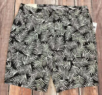 Gap Women Size 10 Black & White Shorts. 9 Inch Bermuda Short. Nwt