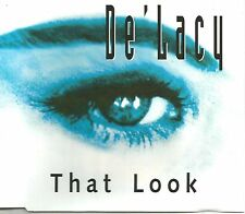 DE'LACY De lacy w/ DEEP DISH That Look  EDIT & 2 REMIXES UK CD single USA Seller