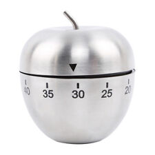 Apple Durable Portable Kitchen Timer 60 Minute Countdown Festive Gift Shan
