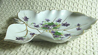 "Vintage 7"" Norcrest Fine China Sweet Violets Pattern Made Japan See Condition"