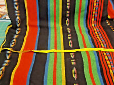 "2 2/3 YARD x 66"" WOVEN BLANKET-LIKE COTTON Sewing Fabric Lot - INDIAN, AZTEC"