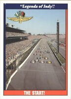 1991 Legends of Indy Racing Card #s 1-100 (A3297) - You Pick - 10+ FREE SHIP