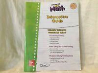 My Math Interactive Guide ELD Student Edition Grade 4 McGraw-Hill New