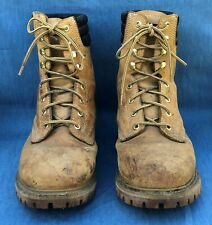 ROEBUCKS THINSULATE WORK BOOTS TAN LEATHER CONSTRUCTION 86905 LACE UP~12D