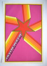 1977 Cuban Original Silkscreen Movie Poster.Plakat.COVER SUN with Thumb.