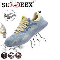Scarpe antinfortunistica da lavoro Uomo Donna S3 Sneakers Punta in acciaio