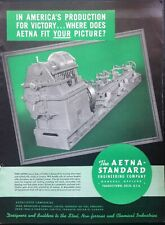 1942 AD(J22)~AETNA-STANDARD ENGINEERING CO. YOUNGSTOWN, O. ROLL LATHE