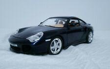 Burago 1:18 Scale Die Cast 3367 Porsche 911 Turbo 1999 BLUE
