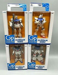 *NEW - RARE* SET OF 4 - Gundam Banpresto Mobile Suit GPSERIES Figure Collection