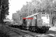 PHOTO  CLASS 312 EMU 31210 ENTERING SUTTON PARK BY THE FOOT CROSSING AT STREETLY
