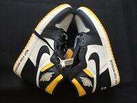 Nike Air Jordan 1 Retro High OG NRG Varsity Maize Yellow 861428-107 Size US 11
