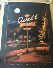 🔥 THE Avett Brothers Poster Print 11-30- 2017 MOBILE AL SIGNED #/200 SILKSCREEN