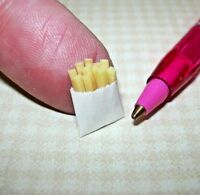 "Miniature ""Lola Originals"" Order of French Fries:  DOLLHOUSE Miniatures 1/12"
