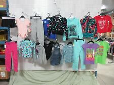 17 GIRLS CLOTHES YOUTH S SMALL OVERALL DENIM HOODIE TOP PANTS SHIRT BULK KID LOT