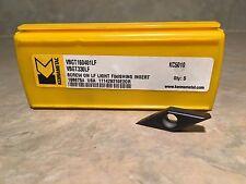 Kennametal VBGT 221 LF Carbide Insert KC5010 Grade VBGT110304LF