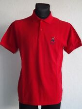 Pringle Sports mens cotton short sleeve red polo shirt size S