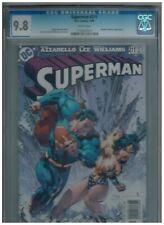 Superman 211 vs Wonder Woman!   CGC 9.8   White pages! 2005