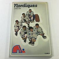 VTG NHL Official Yearbook 1983-1984 - Quebec Nordiques / Dan Bouchard