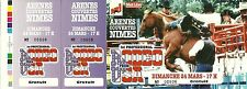 TICKET BILLET DE SPECTACLE - RODEO USA : AUX ARENES DE NIMES 1993 / COMME NEUF