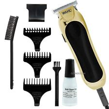 Wahl Para Hombre t-pro Blade Mains powered diamante Acabado Trimmer Clipper - 9307-317