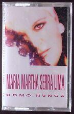 Maria Martha Serra Lima-Como Nunca CASSETTE SONY LATIN SEALED OOP