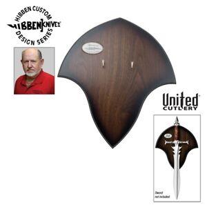 2007 Gil Hibben Knives The Immortal Display Plaque GH2040STD NISB NEW IN BOX