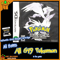Pokemon Black Fully Enhanced All Pokemon All Items & Money | Nintendo Ds