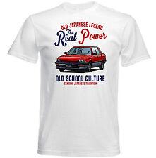 Vintage japonés Coche Honda Ballade 1983-Nuevo Algodón Camiseta