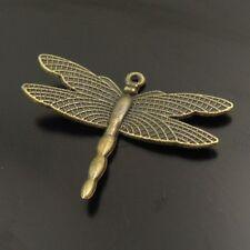 20944 Antiqued Bronze Vintage Alloy Vivid Dragonfly Pendant Charms 30pcs
