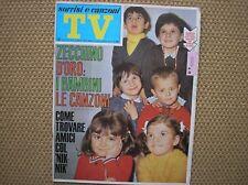 SORRISI E CANZONI TV 11 1968 ZECCHINO D'ORO CRISTINA D'AVENA SONNY & CHER