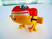 WIND UP YONE TOY HOPPING FROG,1960'S, METAL TOP PLASTIC BODY & LEGS,WORKS