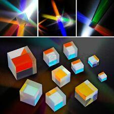 4PCS Defective Cross Dichroic X-Cube Prism Optical Glass Square Prism