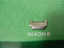 Nixon The Platform Silver extra watch link