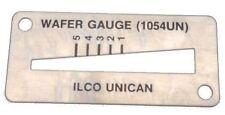 ILCO UNICAN WAFER KEY GAUGE DEPTH DECODER LOCKSMITH REKEYING PINNING KIT TOOL.