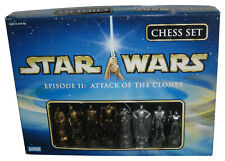Star Wars Episode II Attack of The Clones (2003) Hasbro Parker Brothers Chess Se