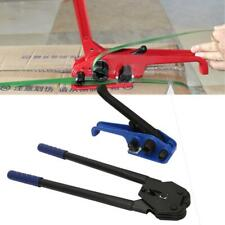 Manual Plastic Strapping Tensioner Packing Tool Straps Sealer Banding Machine US