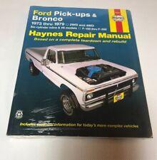1976 Ford F-150 Haynes Online Repair Manual-Select Access