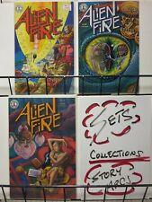 ALIEN FIRE (KS) 1-3 critically acclaimed 1987