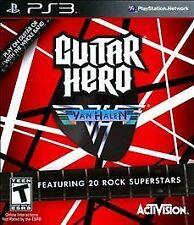 Guitar Hero: Van Halen PS3 NEW! JUMP, FOO FIGHTERS, WEEZER, QUEEN, BILLY IDOL