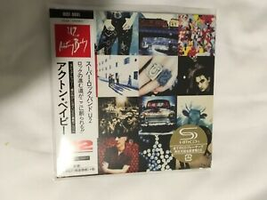 U2 Achtung Baby Japan SHM Mini CD new and sealed