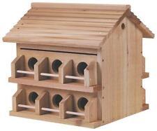 NEW HEATH M-12DP PURPLE MARTIN BIRD HOUSE AROMATIC CEDAR 12 APARTMENT 8382376