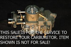 1963 69 YOUR MOTORCRAFT 1100 1 BARREL RESTORED - MUSTANG - FORD 6 CYLINDER ALL