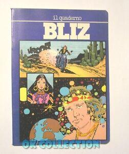 QUADERNO VINTAGE A5 quadretti _ BLIZ by Sterzi Carta anni '80 con fumetto