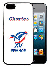Coque de protection iPhone 4 / 4S personnalisée XV de France rugby