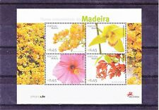 PORTUGAL  / MADEIRA S / S FLOWERS   MNH