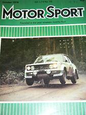 RONNIE PETERSON ITALIAN GP MONZA 1978 NIKI LAUDA BRABHAM BT46 GILLES VILLENEUVE