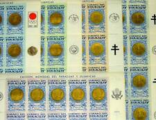 PARAGUAY 1964 OLYMPIC GOLD MEDALS 5 MINT SHEETS 125 STAMPS