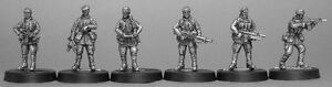 TQD MF1A 20mm Diecast Brittish SAS Commandos (Falklands era) wearing soft caps.