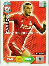 Adrenalyn XL Liverpool FC 11/12 - #025 Andy Carroll - Home